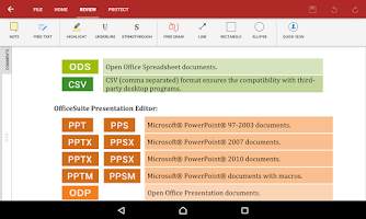 Screenshot of OfficeSuite 8 Pro (Trial)