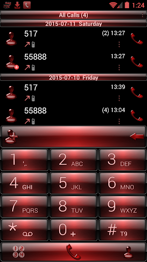 Theme x RocketDial Dusk Red