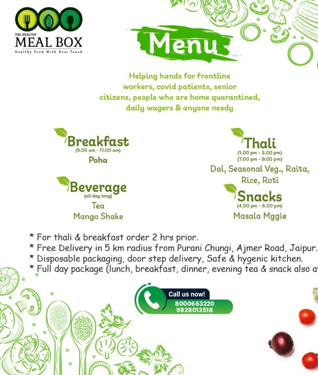 The Healthy Meal box