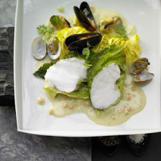 Monkfish in Savoy Cabbage.