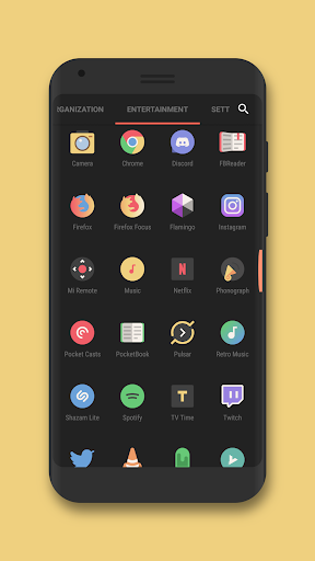 Minimo - Icon Pack  screenshots 2