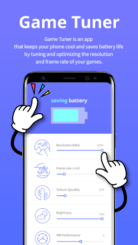 Game Tuner Android App Screenshot