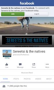 Sereetsi & The Natives screenshot