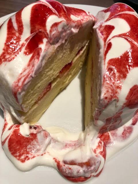 イシヤパンケーキの断面