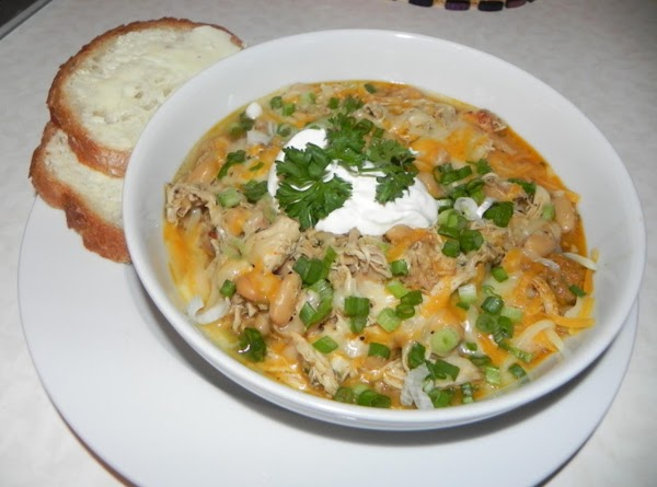 Add to your bowl of chili the chihuahua cheese which melts really easliy. Add...
