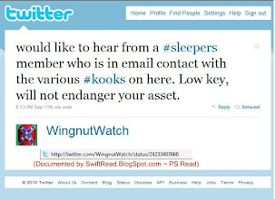 Photo: Neal Rauhauser's created account organizing those who frequent the highlighted sites on twitter.