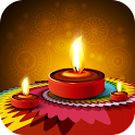 Diwali Greeting Card icon