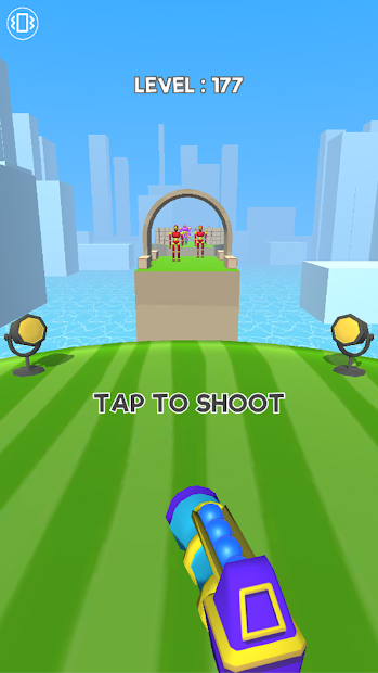 Knock'em All Android App Screenshot