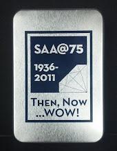 Photo: the SAA card set tin box