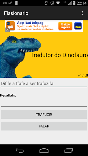 Tradutor do Dinofauro