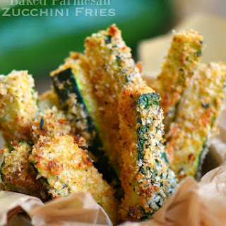 Baked Parmesan Zucchini Fries Recipe