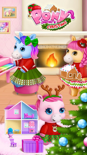 Pony Sisters Christmas - Secret Santa Gifts screenshots 1