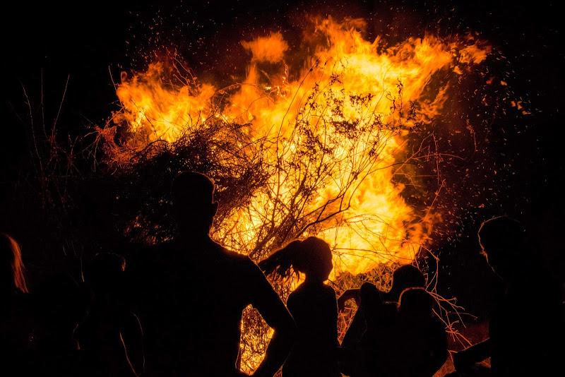 Doppia fobia, buio e fuoco di phrp