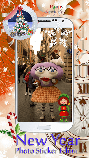 玩生活App|新年フォトステッカー編集者免費|APP試玩