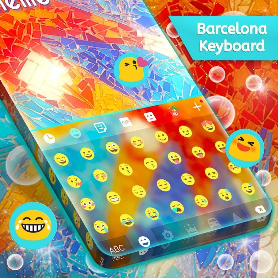 Google themes barcelona - Barcelona Theme Screenshot