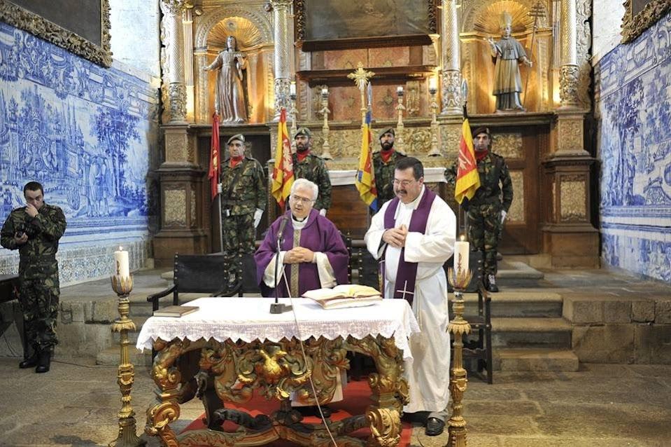 CTOE e Núcleo de Lamego da Liga dos Combatentes celebram Missa de Sufrágio