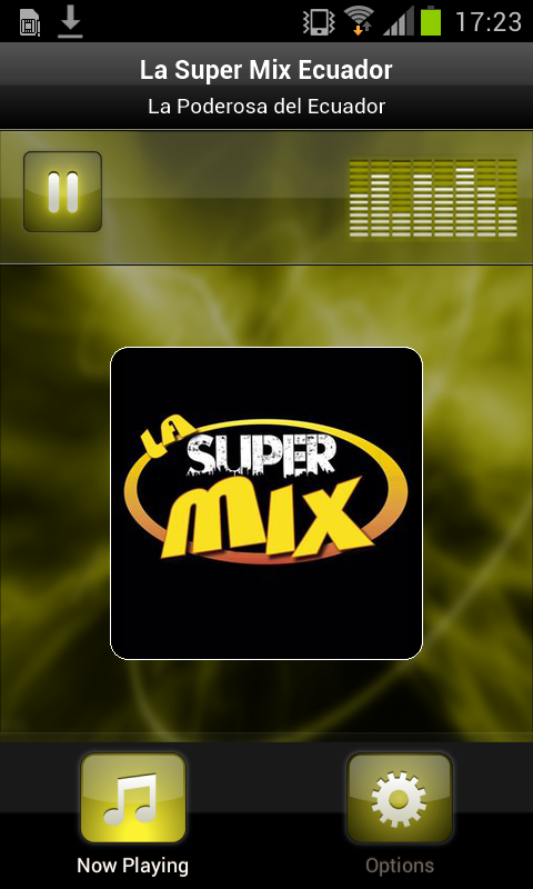 La Super Mix Ecuador: captura de pantalla