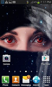 Red Eyes Live Wallpaper screenshot 1