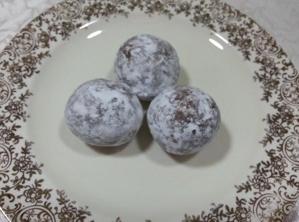 Grandma's Bourbon Balls Recipe