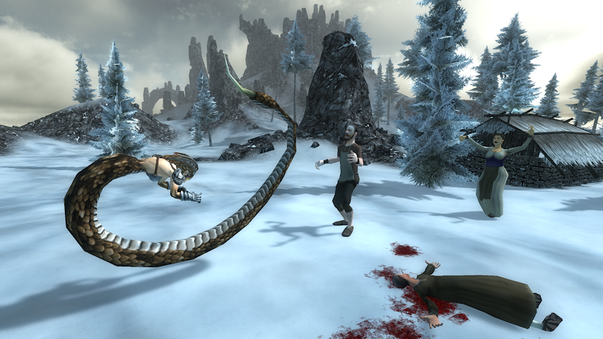 android Gorgon Simulator 3D Screenshot 3