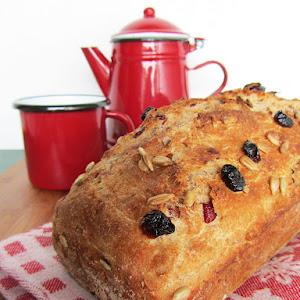 Spelt Cranberry Bread