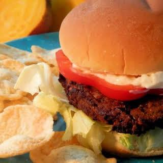 """Heartbeet"" Vegetable Burgers."