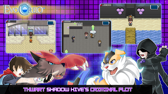 EvoCreo – Lite: A free monster battle RPG App Latest Version Download For Android and iPhone 4