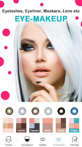 Face Makeup Camera - Beauty Makeover Photo Editor 11.5.33 screenshots 3