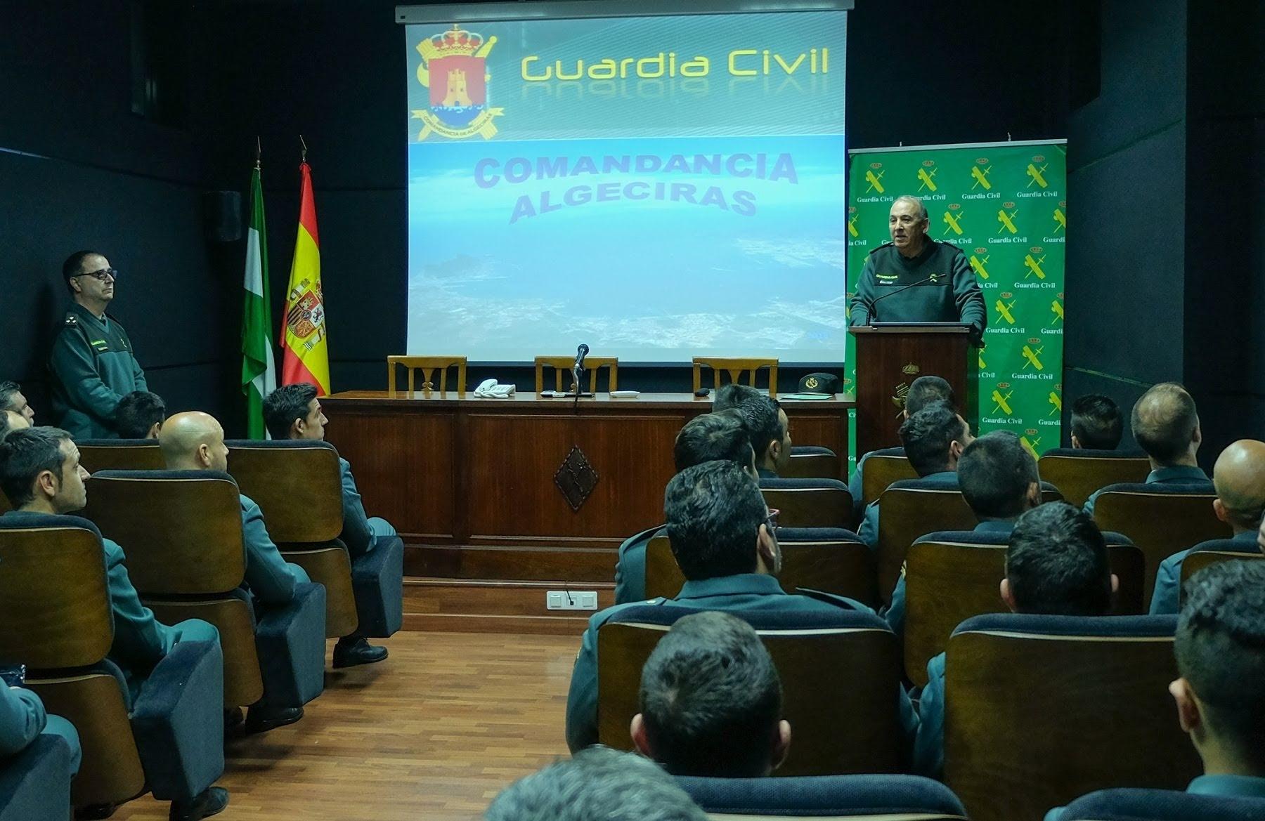 Destinados 58 nuevos Guardias Civiles al Campo de Gibraltar