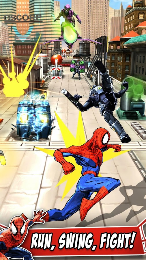 Spider-Man Unlimited mod apk
