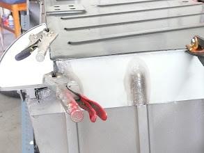 Photo: new fabricated panel pre welding