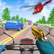 Bike Shooter Racing Attack Blitz