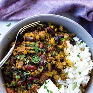 SLOW COOKER CHILLI CON CARNE with BEANS and BLACK GARLIC Recipe