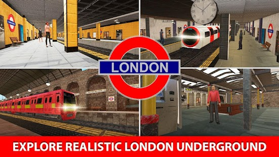 London Subway Train Simulator- screenshot thumbnail
