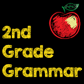 2nd Grade Grammar Flash Cards