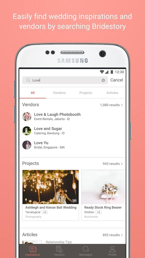 Bridestory wedding app hilda android apps on google play bridestory wedding app hilda screenshot junglespirit Choice Image