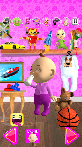 Talking Babsy Baby  screenshot 4