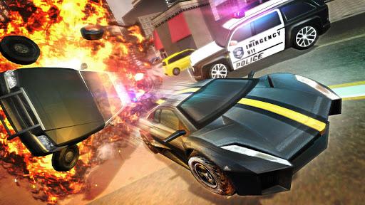 Police Car Stunts Game : Fast Pursuit Simulator 3D screenshot 4