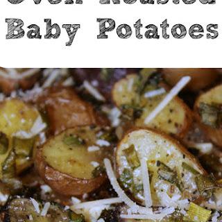 Oven Roasted Baby Potatoes.
