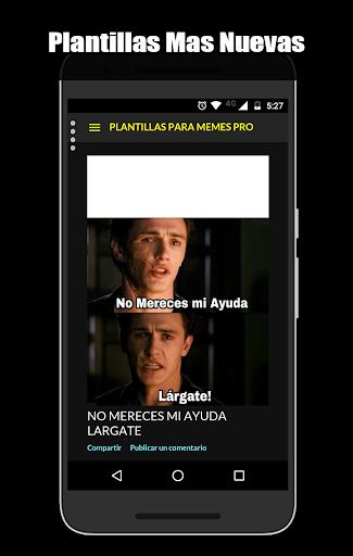 Plantillas Para Momos Pro 2019 screenshot