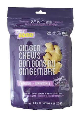 Ginger Chews Original 200g Saygood