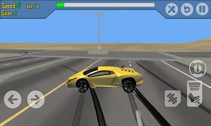android Car Racing Simulator Driving Screenshot 6