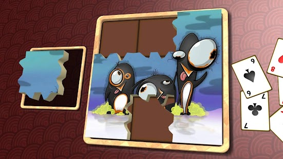 Jigsaw Solitaire - Penguins- screenshot thumbnail