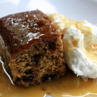 Sticky Date Pudding with Toffee Sauce.