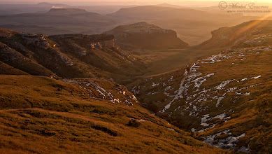 """Photo: """"Dawn in the Mountains"""" Maluti Mountains, Drakensberg range, Golden Gate Highlands National Park, South Africa  This is the last photo in the nature photo challenge - 5 nature photos in 5 days as per my challenger +Mike Spinak. I nominate +Grobler du Preezand +Dick Whitlockto post their own 5 photos over 5 days as well.  This is a lovely sunrise from a couple of years ago on a family holiday in the Maluti mountains.  MY WEBSITE: www.morkelerasmus.com SAFARIS: www.wild-eye.co.za  This photo is Copyrighted © Morkel Erasmus Photography.  #dawnonSunday  #landscapephotography  #mountains  #mountainmonday  #naturephotos  #landscape  #sunrise  #Africa  #SouthAfrica  #GoldenGate  #maluti  #drakensberg"""