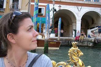 Photo: Gondola ride in Venice, Italy