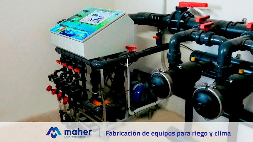Fabricación de equipos para riego y clima.