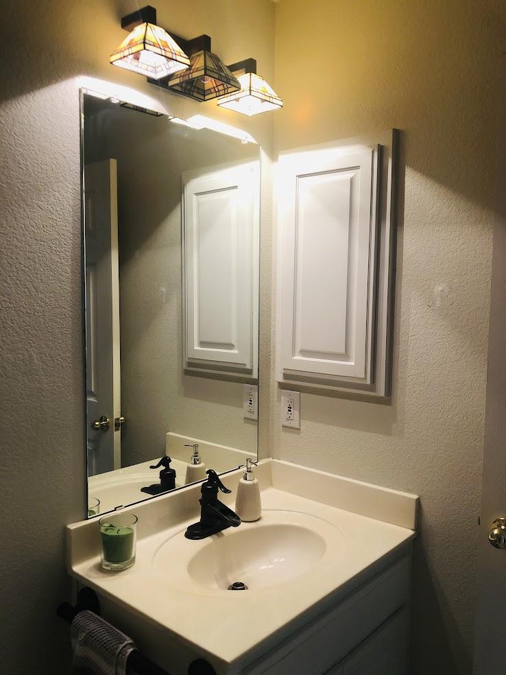 vanity - before
