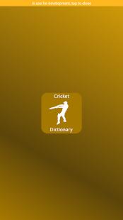 Cricket Dictionary - náhled