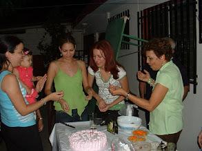 Photo: Claudia disfrutando con familia y amigos su cumpleaños